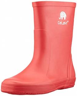 Celavi Basic Wellies - solid Gummistiefel, Baked Apple, 33 EU von Celavi