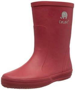 Celavi Basic Wellies - solid Gummistiefel, Baked Apple, 34 EU von Celavi