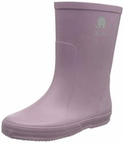 Celavi Basic Wellies - solid Gummistiefel, Mauve Shadow, 22 EU von Celavi