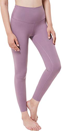 Chaos World Sporthose Damen High Waist Sport Leggings Elastische Tummy Control Yogahose Jogginghosen (Rosa,M/Tag 8) von Chaos World
