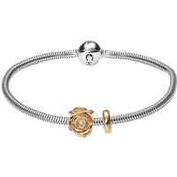 Damen Christina 17cm Bracelet With Charm Sterling-Silber 601-17G von Christina Jewellery