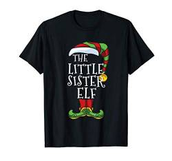 Little Sister Elf Family Matching Christmas Group Pajama T-Shirt von Christmas Family Matching Funny I'm The Elf Store.