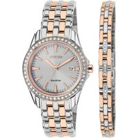 Citizen Bracelet Gift Set Damenuhr in Zweifarbig EW1909-64A von Citizen