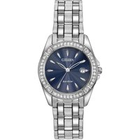 Citizen Crystal Damenuhr in Silber EW2350-54L von Citizen