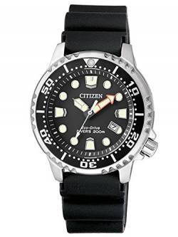 CITIZEN Damen Analog Quarz Uhr mit Plastik Armband EP6050-17E von Citizen