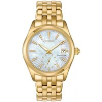 Citizen Damenuhr in Gold EV1032-51D von Citizen