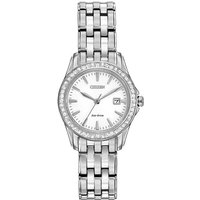 Citizen Damenuhr in Silber EW1901-58A von Citizen