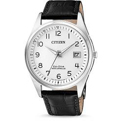 CITIZEN Herren Analog Solar Uhr mit Leder Armband AS2050-10A von Citizen