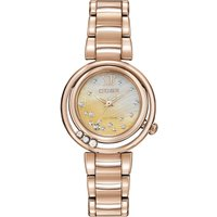 Citizen L Sunrise Damenuhr in Rosa EM0323-51N von Citizen