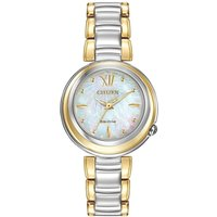 Citizen L Sunrise Damenuhr in Zweifarbig EM0337-56D von Citizen