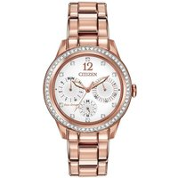 Citizen Silhouette Crystal Damenuhr in Rosa FD2013-50A von Citizen