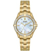 Citizen Silhouette Damenuhr in Gold EW1922-58D von Citizen