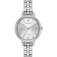 Citizen Silhouette Damenuhr in Silber EW2440-53A von Citizen