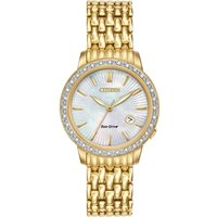 Citizen Silhouette Diamond Damenuhr in Gold EW2282-52D von Citizen