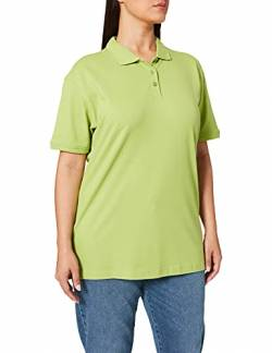 CliQue Damen Regular Fit Poloshirt,Green (Light Green), 42 EU (Herstellergröße:X-Large) von Clique