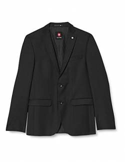 CG CLUB of GENTS -Andy SS 20 - 023S0,Herren Regular Fit AnzugJacke, Schwarz (Schwarz 90), Gr. 52 von Club of Gents
