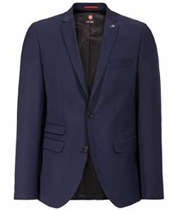 Club of Gents Herren Amf-cliff Anzugjacke, Blau (Blau 62), 52 EU von Club of Gents