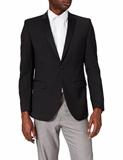 Club of Gents Herren Ace SS Anzugjacke, Schwarz (Schwarz 90), 25 von Club of Gents