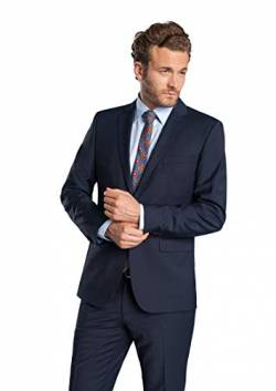 Club of Gents Herren Tailored Fit Anzug Andy SS 20 - 023S0, Blau (Blau 62), Gr. 24 von Club of Gents