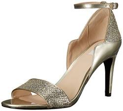 Cole Haan Damen Grand 85MM Grace, großartige Sandale, 85 mm, Gold/Silver Glitter, 35.5 EU von Cole Haan