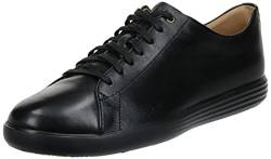 Cole Haan Herren Grand Crosscourt Sneaker, Schwarz (Black Leather/Blk Black), 40 EU von Cole Haan
