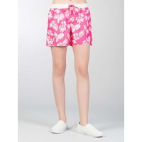 Colins Beach Shorts mit Tropical Muster Shorts pink Damen Gr. 36 von Colins
