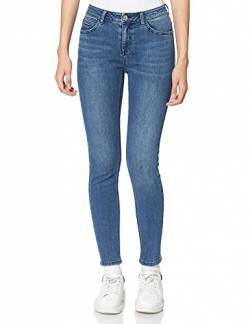 Comma CI Damen 603.11.899.26.180.1278101 Slim Jeans, Blau (Blue Denim Stretch 57z4), 44 von Comma CI