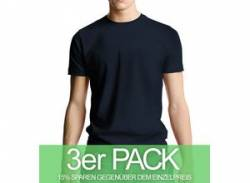 Continental Clothing Classic Jersey T-Shirt navy 3er-Pack von Continental Clothing