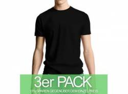 Continental Clothing Classic Jersey T-Shirt schwarz 3er-Pack von Continental Clothing
