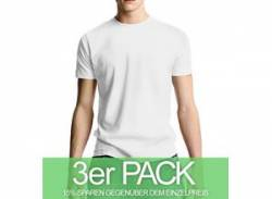 Continental Clothing Classic Jersey T-Shirt weiss 3er-Pack von Continental Clothing