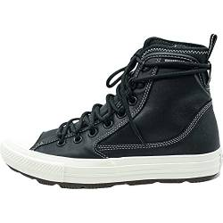 Converse Unisex Chuck Taylor All Star Street Walking Shoe, Black/Black/White, 44 EU von Converse