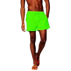Coole-Fun-T-Shirts Neon Badehose Badeshorts Lifeguard Rettungsschwimmer Strand Schwimmbad Baggersee Neongreen S von Coole-Fun-T-Shirts