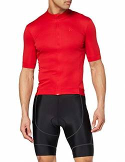 Craft Herren Essence Jersey M Radtrikot, Bright Red, S von Craft