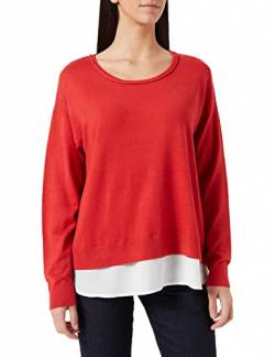Cream Damen Tammy Pullover, Rot (Scarlet Orange 65185), Medium (Herstellergröße: M) von Cream
