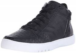 Creative Recreation Herren Adonis Basketballschuhe, Schwarz (Mid Black Croco), 40 EU von Creative Recreation