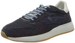 Crime London Herren LUNAR Sneaker, Blue, 44 EU von Crime London