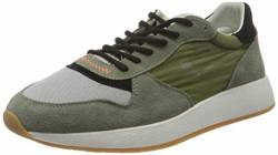 Crime London Herren LUNAR Sneaker, Green, 42 EU von Crime London