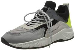 Crime London Herren KOMRAD Sneaker, Grey, 43 EU von Crime London