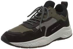 Crime London Herren KOMRAD Sneaker, Military Green, 43 EU von Crime London