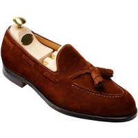 Crockett & Jones, Loafer Cavendish 2 in mittelbraun, Slipper für Herren von Crockett & Jones