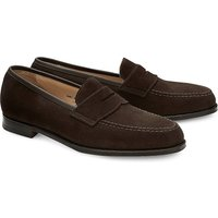 Crockett & Jones, Penny-Loafer Boston in dunkelbraun, Slipper für Herren von Crockett & Jones