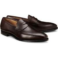 Crockett & Jones, Penny-Loafer Sydney in dunkelbraun, Slipper für Herren von Crockett & Jones