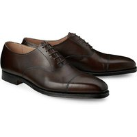 Crockett & Jones, Schnürschuh Hallam in dunkelbraun, Business-Schuhe für Herren von Crockett & Jones