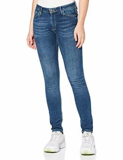 Cross Jeans Damen Alan Skinny Jeans, Blau (Dark Blue 101), W29/L30 von Cross