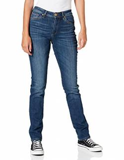 Cross Jeans Damen Anya P 489-162 Slim Jeans, Blau (Dark Blue 120), W29/L32 von Cross