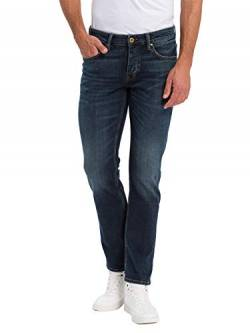 Cross Herren Dylan Tapered Fit Jeans, Blau (Dirty Blue 097), W38/L32 von Cross