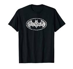 Batman Paisley Bat T Shirt von DC Comics