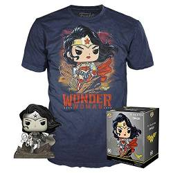 DC Comics Funko POP! Figur + T-Shirt Set - Wonder Woman by Jim Lee (S) von DC Comics