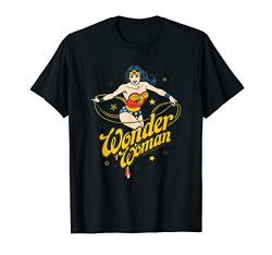 DC Comics Wonder Woman Stars T-Shirt von DC Comics