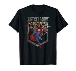 Justice League Movie Charge T Shirt von DC Comics
